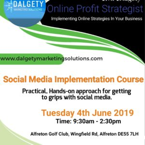 Social Media Implentation Course - 4 Jun 2019